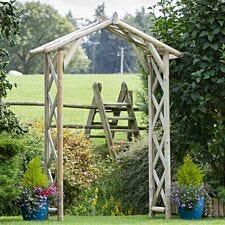 Zest4Leisure Rustic Garden Archway