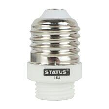 Status Edison Screw to G9 Light Bulb Cap Converter