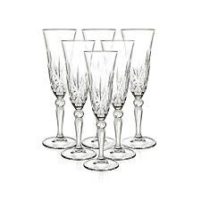 RCR Melodia Champagne Flutes - Set of 6