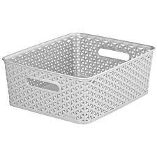 Curver My Style Medium Storage Basket - Grey