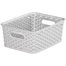 Curver My Style Small Storage Basket - Grey