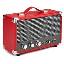 GPO Westwood Bluetooth Speaker – Red