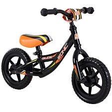 Sonic Glide Boys Balance Bike with 10-Inch Wheels - Black and Orange