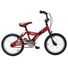 Sonic Boom 16 Inch Wheel Boys Bike Single Speed - Red