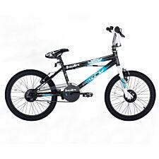 Flite Punisher Freestyle BMX Bike - Black and White