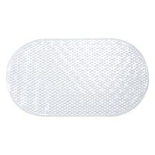 Sabichi PVC Oval Bathmat - Clear