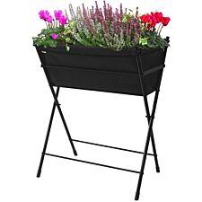VegTrug Poppy Raised Planter – Black