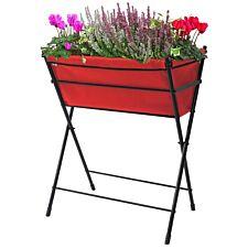 VegTrug Poppy Raised Planter - Red