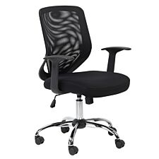 Alphason Atlanta Mesh Office Chair – Black