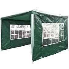 Charles Bentley Garden Gazebo Tent - Green