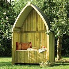 Rowlinson Winchester Garden Arbour with Storage