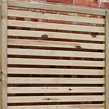 Rowlinson Garden Creations Horizontal Slat Screens Pack of 2