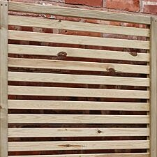 Rowlinson Garden Creations Horizontal Slat Screens Pack of 4
