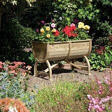 Rowlinson Marberry Barrel Garden Planter