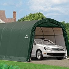 ShelterLogic 10ftx20ft Round Top Auto Shelter