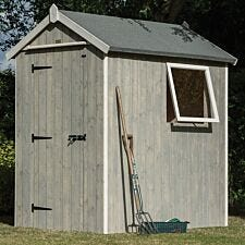 Rowlinson Heritage 4ft x 6ft Wooden Apex Garden Shed