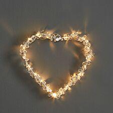 Robert Dyas Pearl & Jewel Heart Wreath