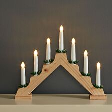 Robert Dyas 7-LED Christmas Candle Bridge