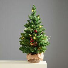 2ft Robert Dyas Pre-Lit Richmond Tabletop Christmas Tree