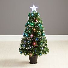 3ft Robert Dyas Westbury Fibre Optic Christmas Tree