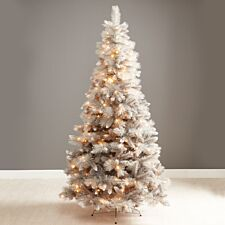 7ft Robert Dyas Norfolk Grey Shimmer Christmas Tree