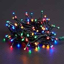 Robert Dyas Battery Operated LED String Lights - Multi-Coloured