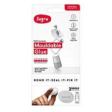 Sugru Single Use 3 Pack – White