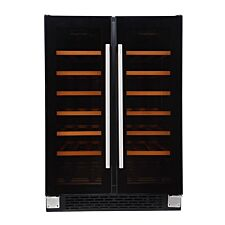 Russell Hobbs RHBI36DZWC2 36-Bottle Dual Zone Wine Cooler - Black