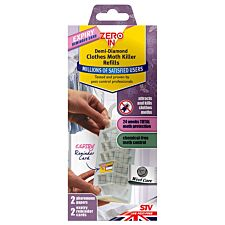 ZERO IN Demi Diamond Clothes Moth Killer Refills – Twin Pack
