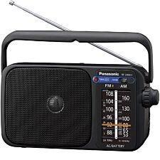 Panasonic RF-2400D Digital (Not Dab) AM/FM Portable Radio – Black
