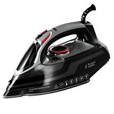 Russell Hobbs 20630 Powersteam Ultra 3100W Vertical Steam Iron – Black/Silver/Red