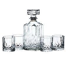 Bar Craft Whisky Decanter & Tumbler Set
