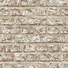 Arthouse Rustic Brick Wallpaper – Neutral