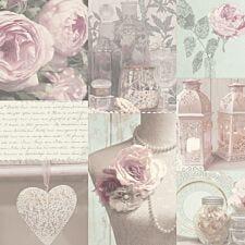 Arthouse Charlotte Wallpaper – Blush