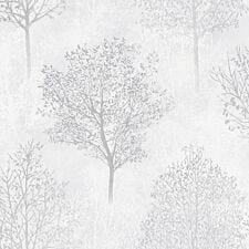 Arthouse Wonderland Trees Wallpaper – Mono