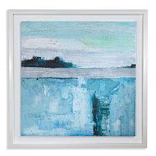 Arthouse 'Abstract Seascape' Framed Wall Print