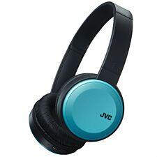 JVC HA-S30BT Deep Bass Bluetooth On-Ear Headphones - Blue
