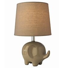 Village At Home Ellie Table Lamp - Grey
