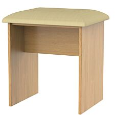 Edina Dressing Table Stool - Modern Oak