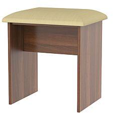 Edina Dressing Table Stool - Walnut