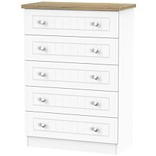 Wilcox 5-Drawer Chest of Drawers - Porcelain Ash
