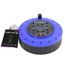 Daewoo 4 Gang 10m Cable Reel