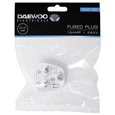 Daewoo 13A Fused Plug