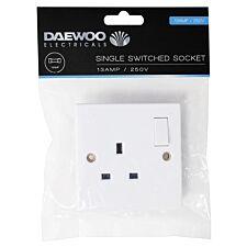 Daewoo Single-Switched Socket - 13 Amp