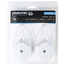 Daewoo Automatic Night Lights - Pack of 2