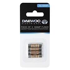 Daewoo 13-Amp Fuses - 4 Pack