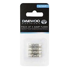 Daewoo 5-Amp Fuses - 4 Pack