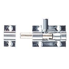 Select Hardware 38mm Straight Bolt - Polished Chrome