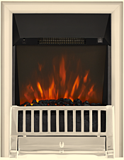 Focal Point Fires Farlam LED Inset Electric Fire - Chrome