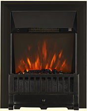 Focal Point Fires Farlam LED Inset Electric Fire - Black